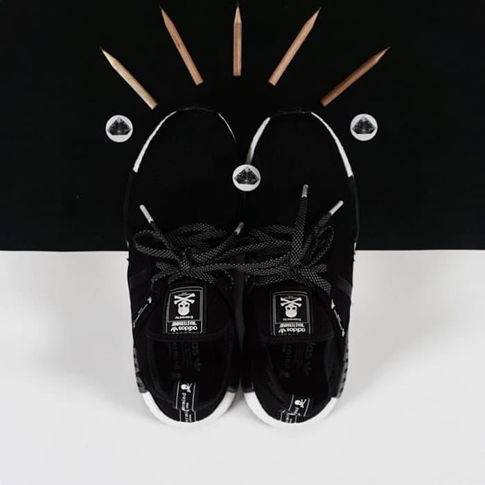 sepatu adidas NMD XR1 x mastermind japan black white hitam putih - PPQ5Kw