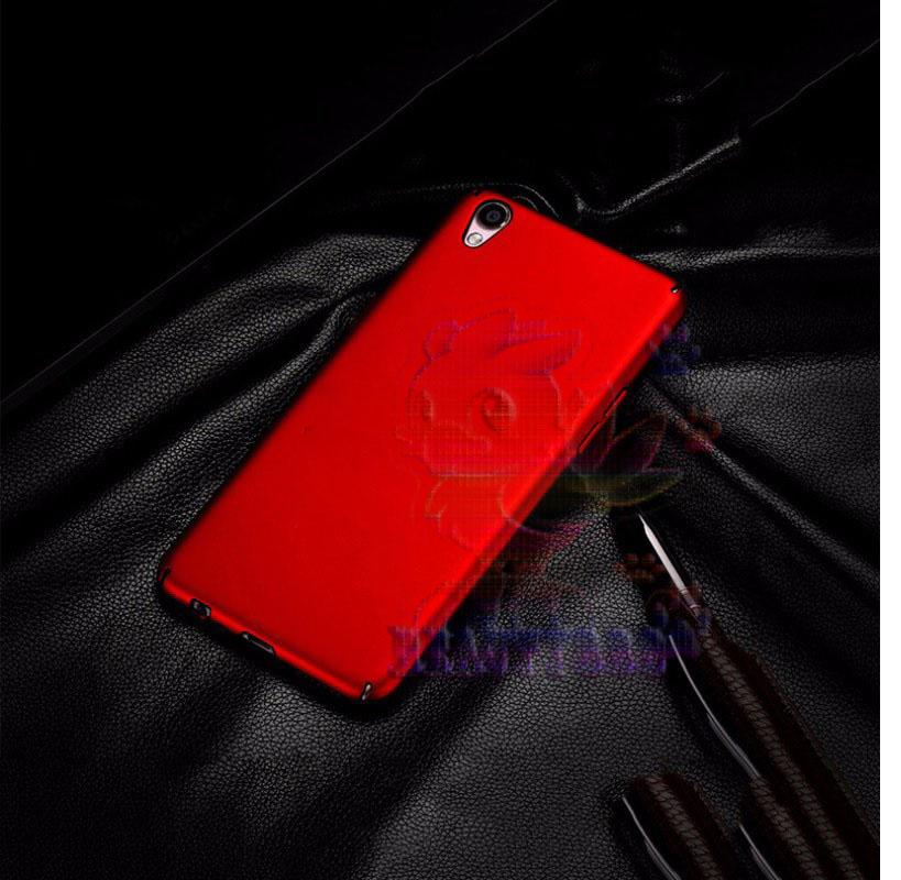 Case Oppo Neo 9 A37 Hard Slim Red Mate Anti Fingerprint Hybrid Case Baby Skin Oppo