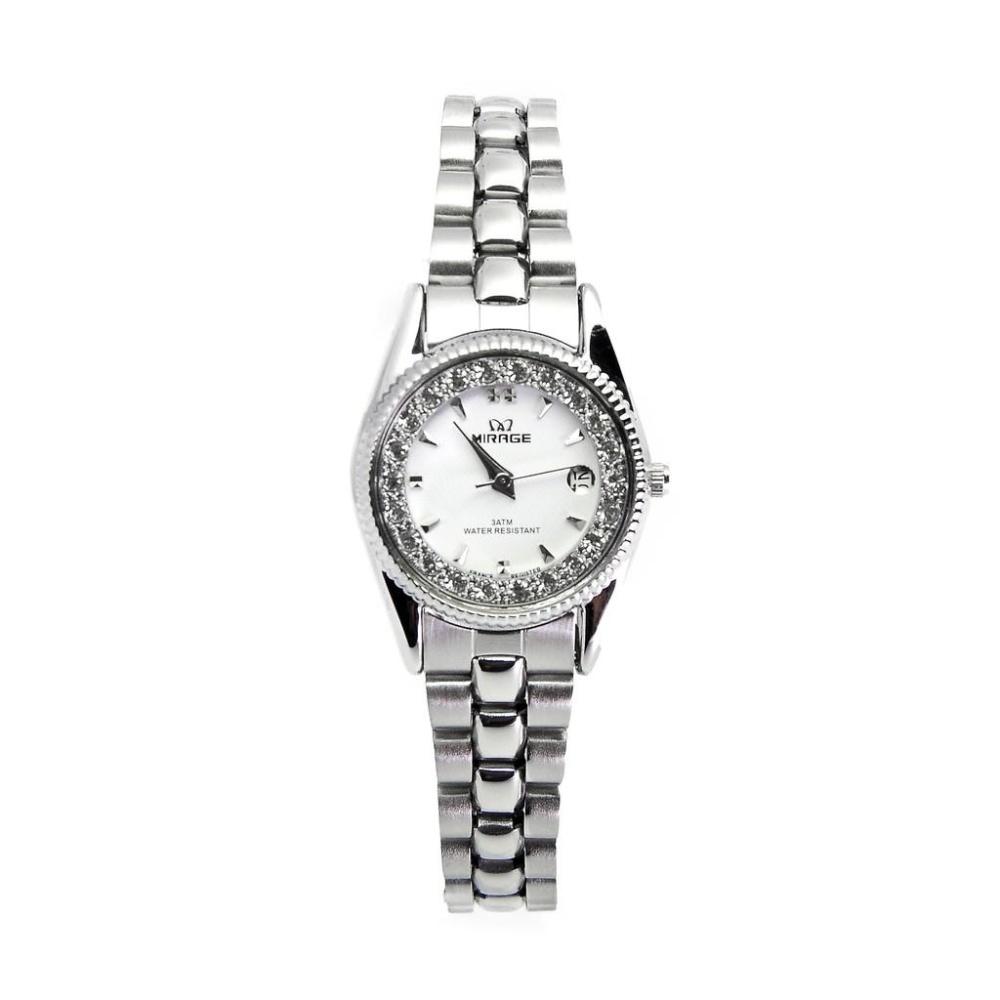 Aigner La Spezia A03225 White Pearl Bracelet Original Jam Tangan A03227 Putih Gold Wanita Mirage Permata Silver Rx 1580pp