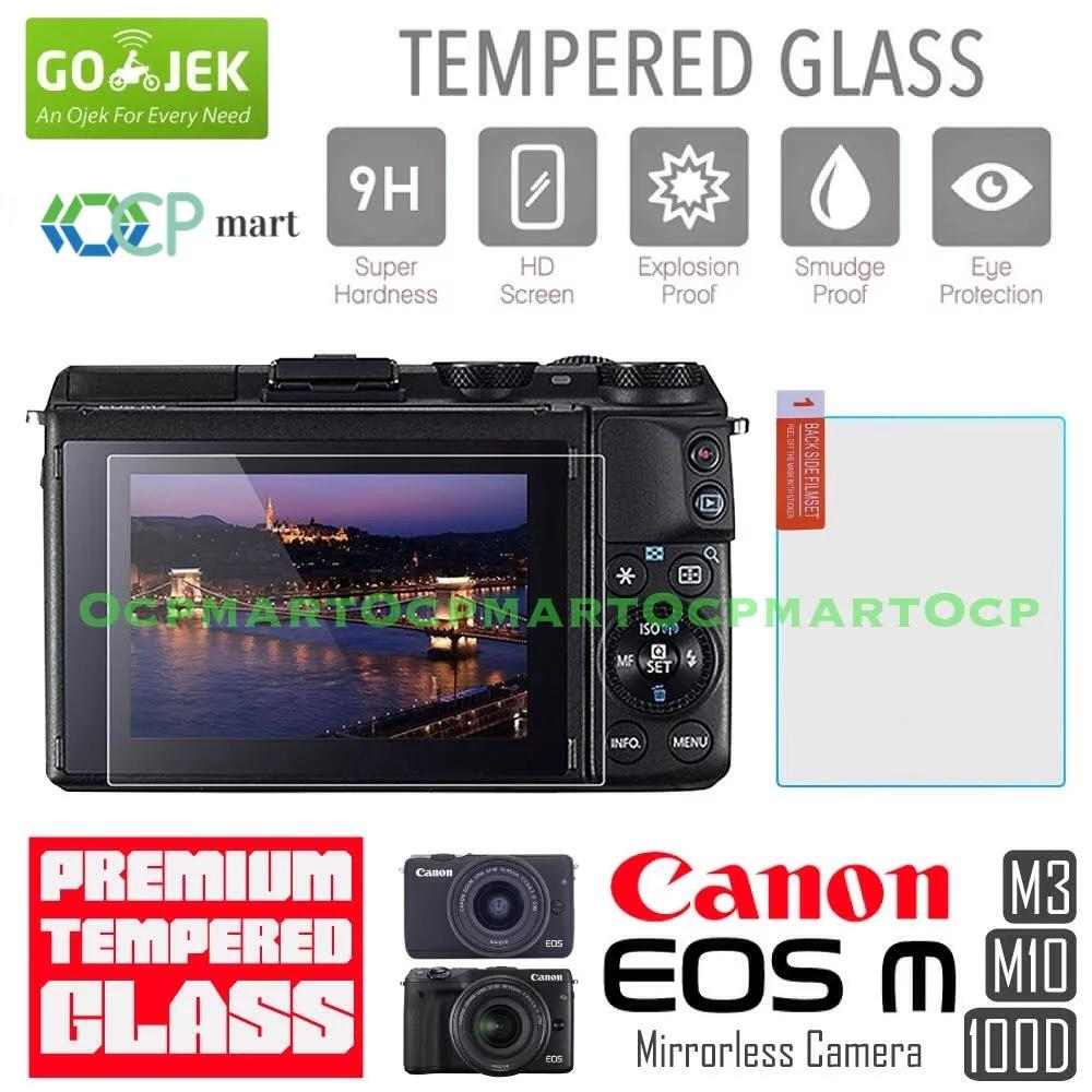 Tempered Glass Canon M3 M10 100D Anti Gores Screen Protector