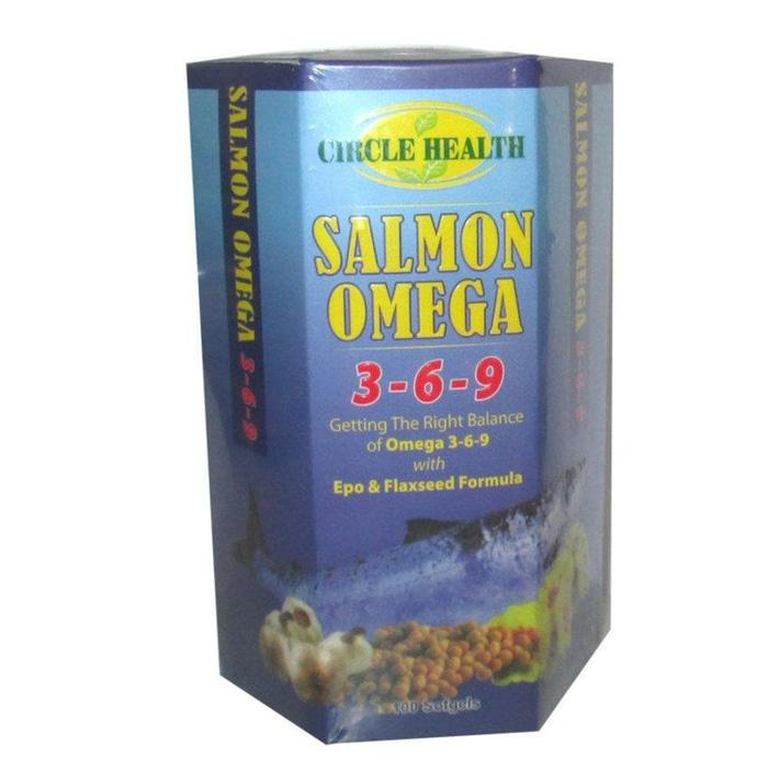 Salmon Omega 3-6-9 isi 100 Softgel Circle Health
