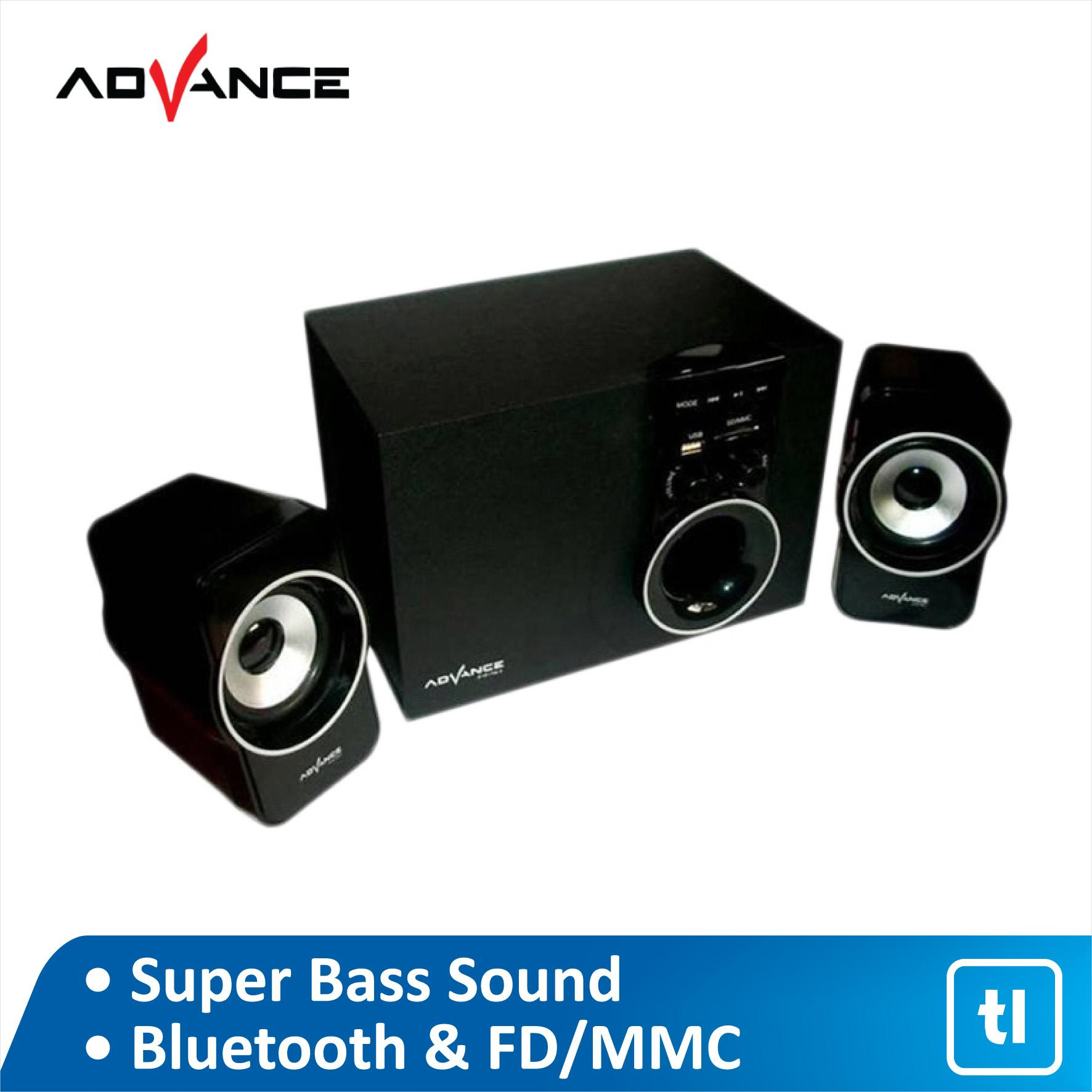 Speaker Aktif ADVANCE M180BT BLUETOOTH