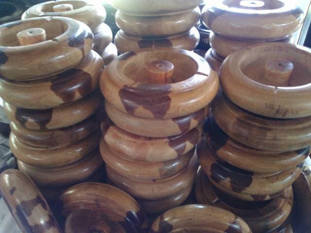 Asbak Kayu Murah & Bagus - ready stock