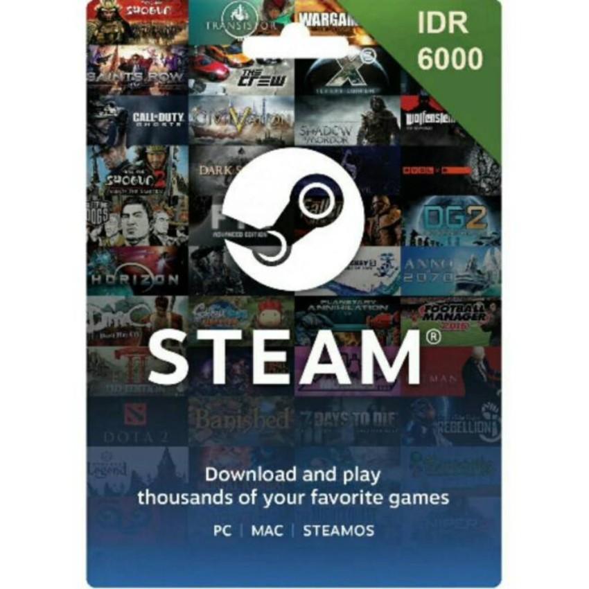 Steam Wallet IDR 6000