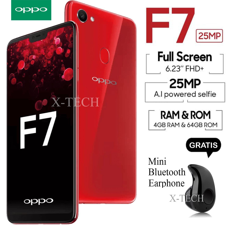 Oppo F7 - RAM 4GB - ROM 64GB - Garansi Resmi