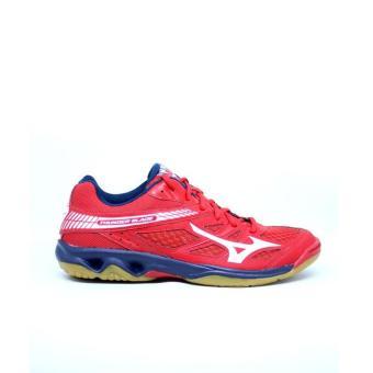 Pencari Harga Sepatu voli Mizuno V1GA177007 THUNDER BLADE - MARS RED WHITE  DRESS BLUES terbaik murah c5958f8d3d