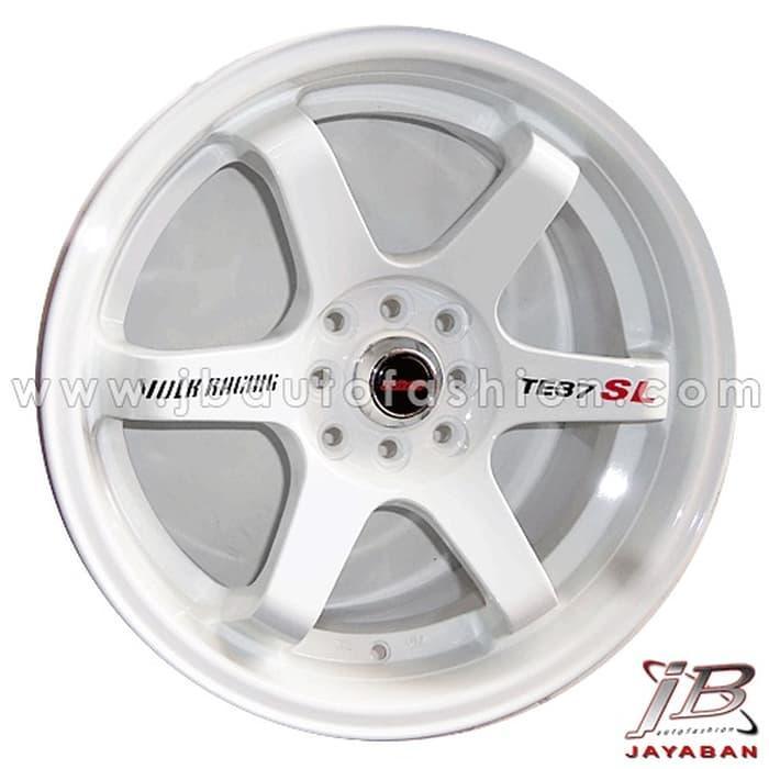 Velg racing ring 14 inch Rep. TE37 SL untuk mobil PCD 4x100 / 4x114.3