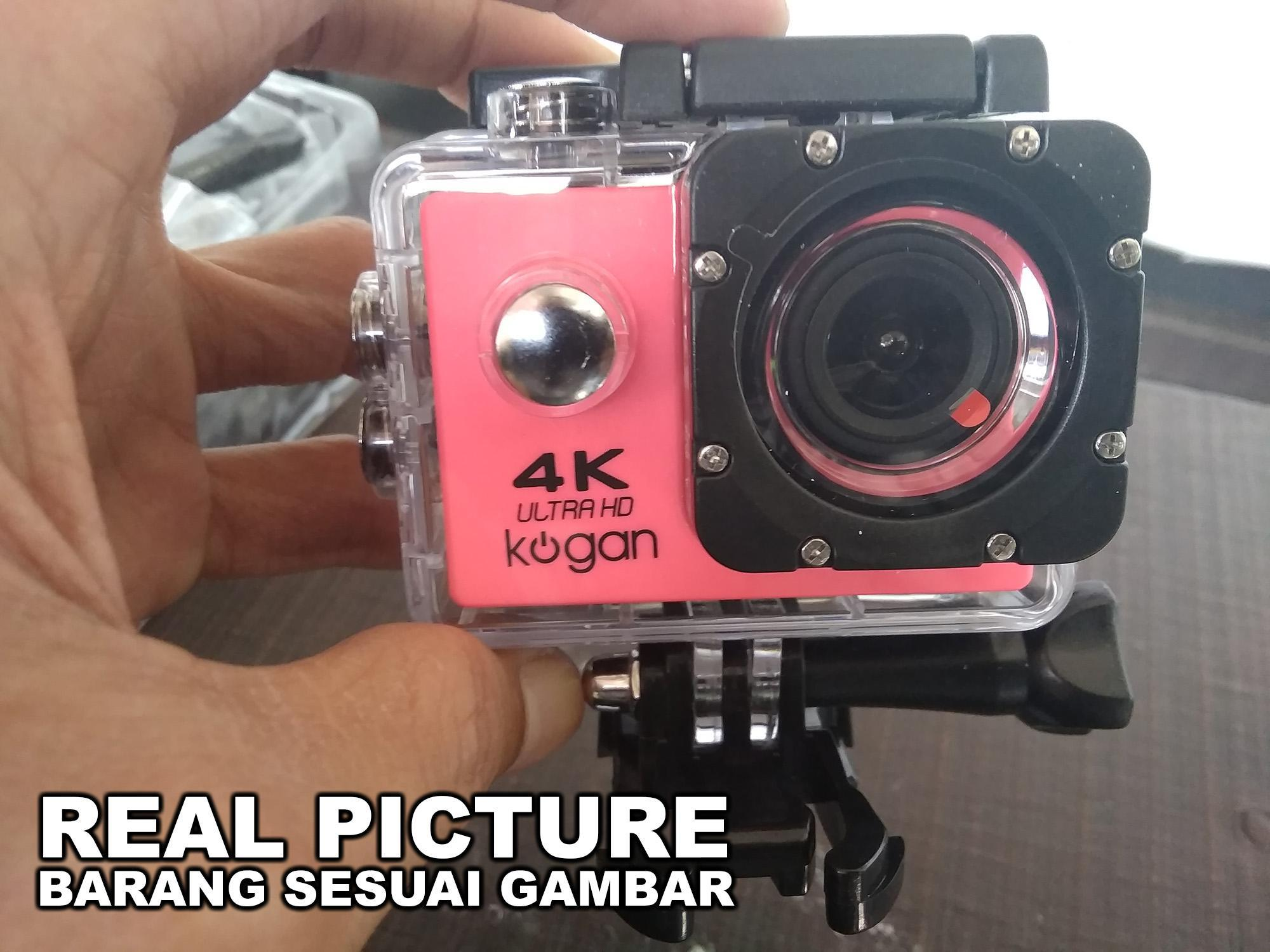 Big King Shop - Action Cam Sport Cam 4K Ultra HD 16MP Waterproof High Quality - Kogan - Gopro - XIaomi Yi KAMERA AKSI KAMERA CEMBUNG JAGONYA NGEVLOG