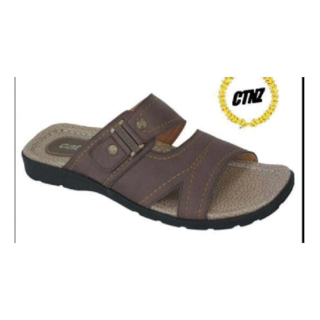 Sandal kulit Pria sandal formal sandal santai casual sandal cibaduyut