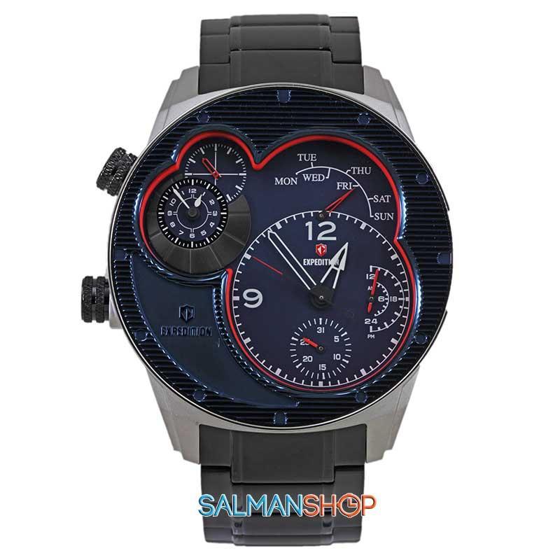 Expedition E6737MCUB jam tangan pria tali rantai