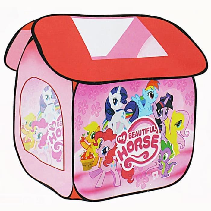 Tenda Rumah My Little Pony. Mainan Anak Mandi Bola
