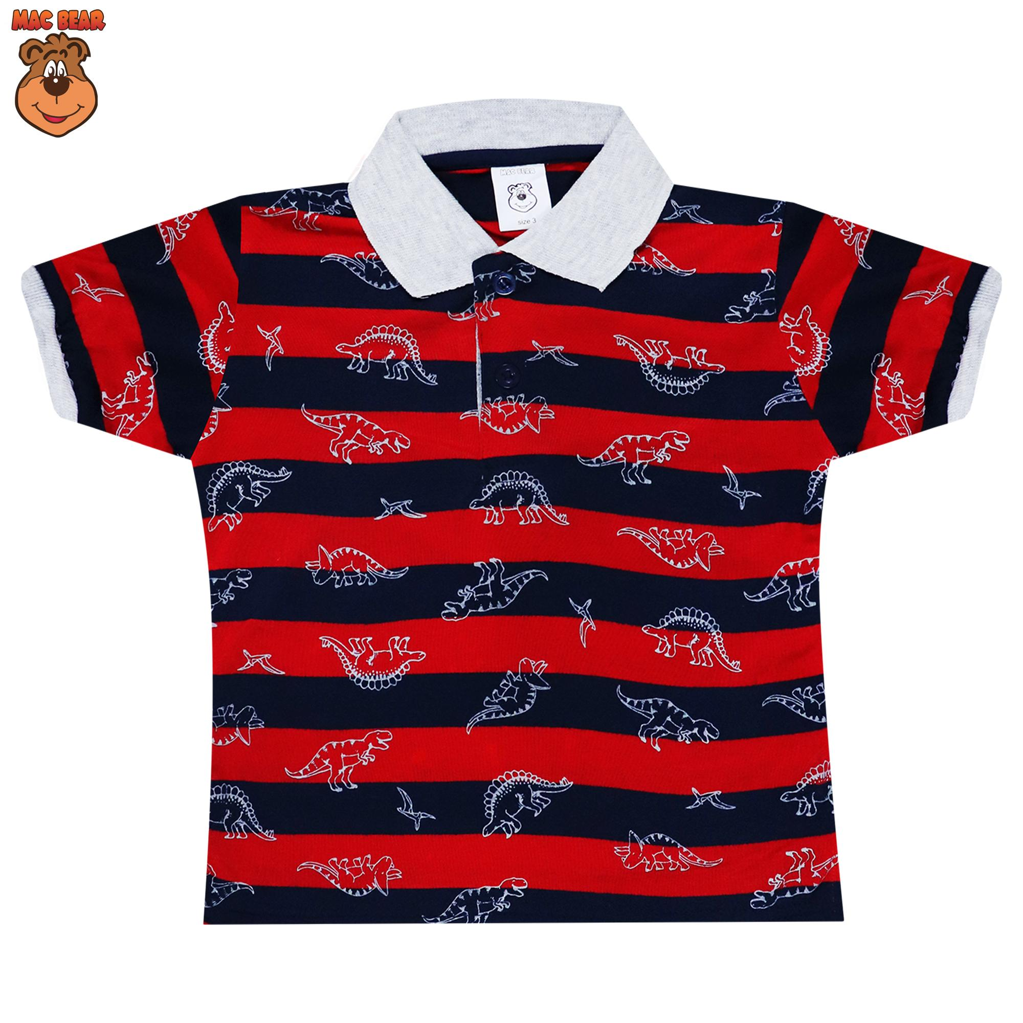MacBear Baju Anak Dino Polo Shirt Cool Boys