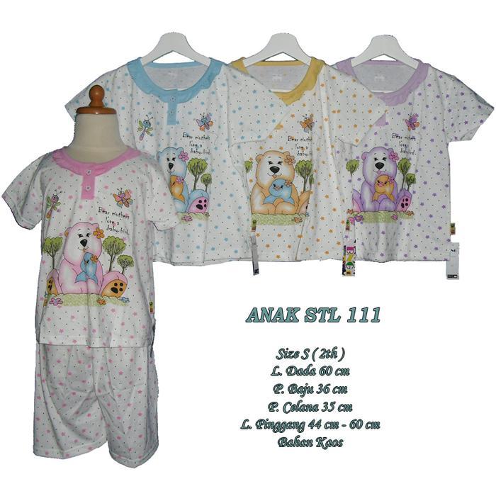 Baju tidur untuk 2 tahun anak perempuan setelan celana pendek size S - S-ANAK STL 111, Kuning / Baju Tidur / Baju Tidur Wanita / Baju Tidur Jumbo / Setelan Baju Tidur / Baju Tidur Murah / Baju Tidur Kekinian / Baju Tidur Berkualitas