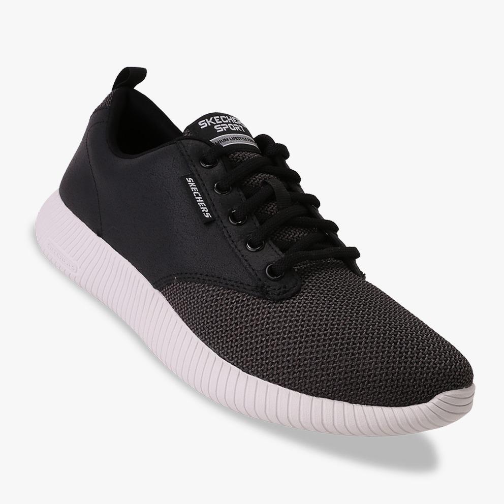Skechers Depth Charge - Trahan Sepatu Sneakers Pria - Hitam 42b94a4190