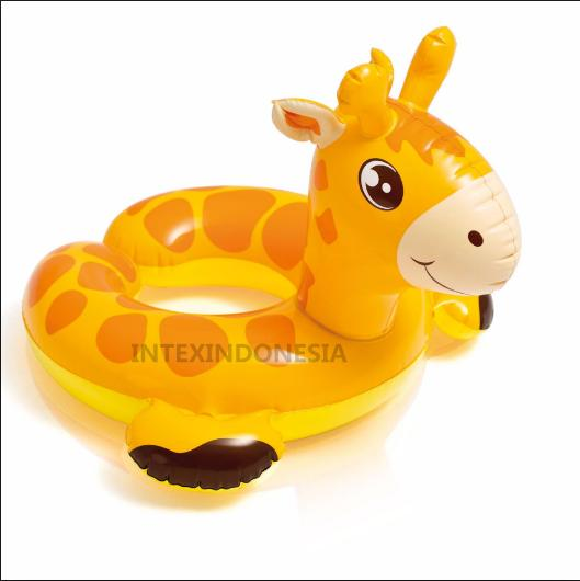 TotallyGreatShop Ban Renang Anak Big Animal Rings 3Tahun keatas (New Old Stock) Ban Renang