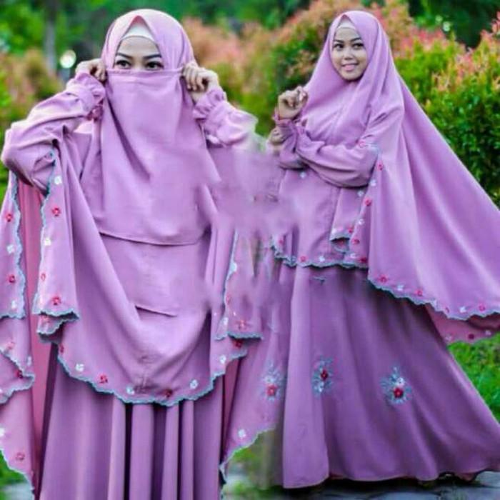 Tanah Abang Fashion terbaru termurah dan terlaris Gamis Muslim fisura Aer