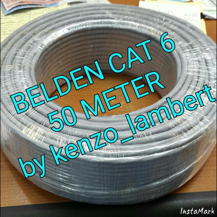 Kabel LAN UTP cat 6 BELDEN USA 50 meter /belden cat6 50meter/belden