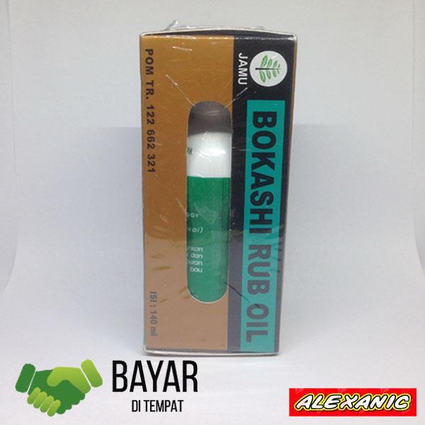 Minyak Oles Bokashi 140ml (Jumbo) + Bonus