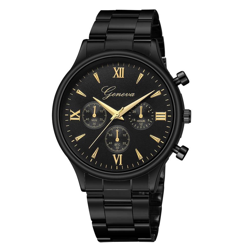 Mens Chrono Watch - Jam Tangan Pria - Chronograph Style - Stainless - GNV  5580 e46fa20c8e