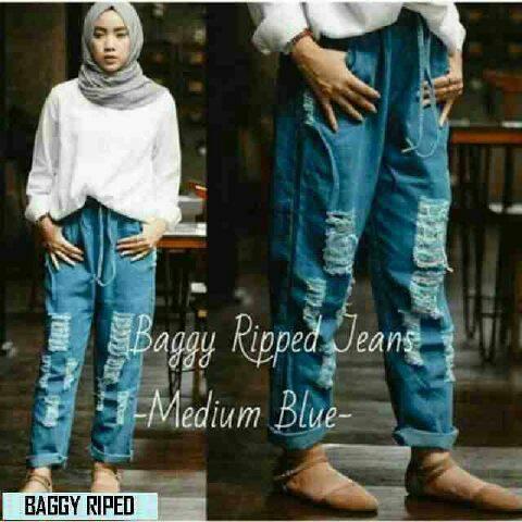 Celana murah baggy ripped jeans  - 3f775d3df21be1462015e14cb3122d20 - Kumpulan Harga Grosir Celana Jeans Anak Import Bandung Agustus 2018