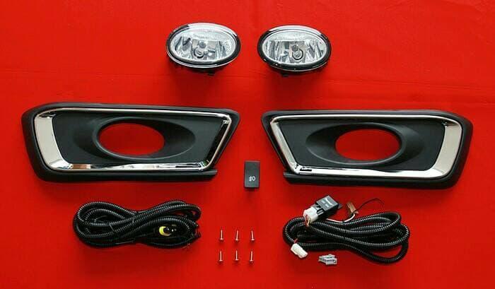 LAMPU/FOGLAMP HONDA MOBILIO COMPLIT | ( lampu  mobil hid plafon depan rem sorot led h4 kabut fog lamp tembak variasi strobo rem toyota innova hid avanza osram )