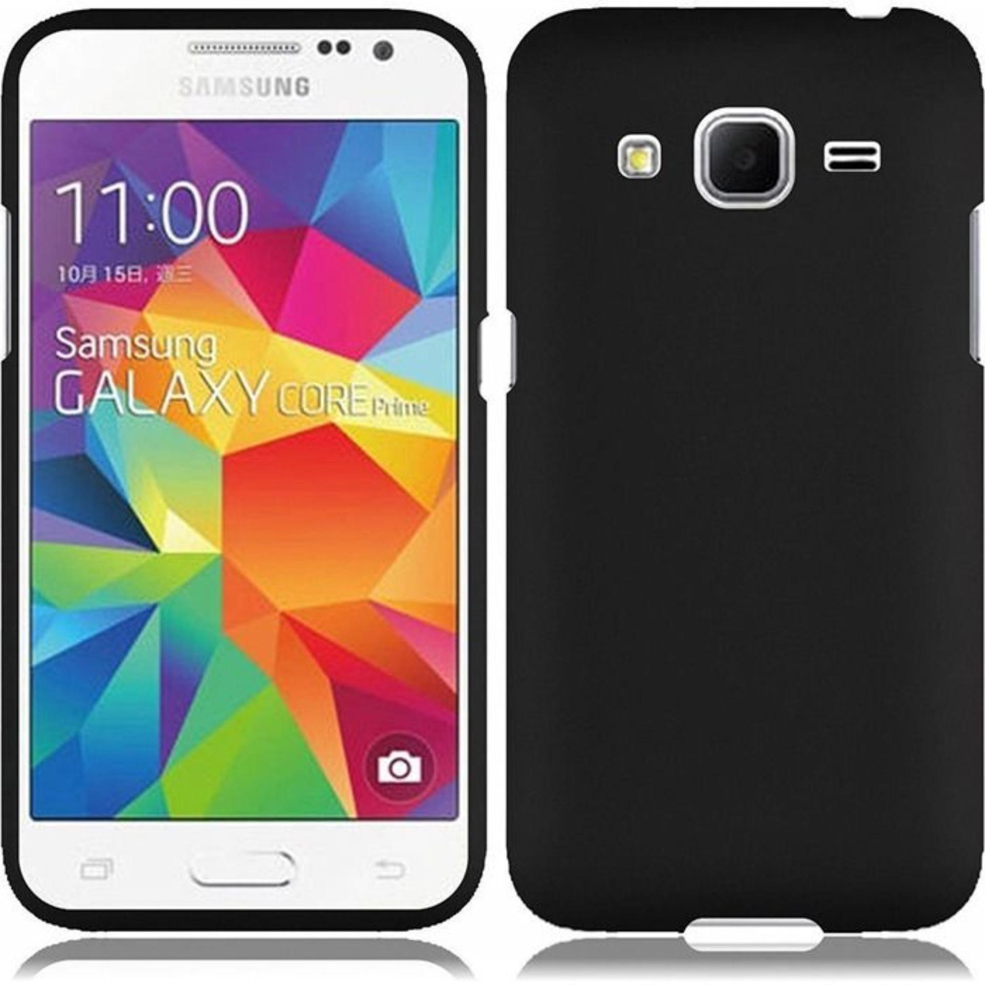 DarkNight for Samsung Galaxy Core 2 / G355 / G355H / 4G LTE / Duos | Slim Case Black Matte Softcase Premium (Anti Minyak/Anti Sidik Jari) - Hitam Doff