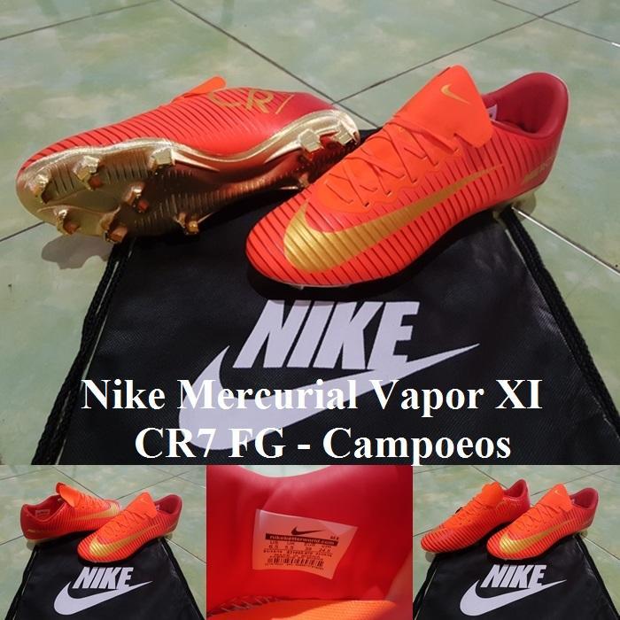 SEPATU BOLA Nike Mercurial Vapor XI CR7 FG - Campoeos