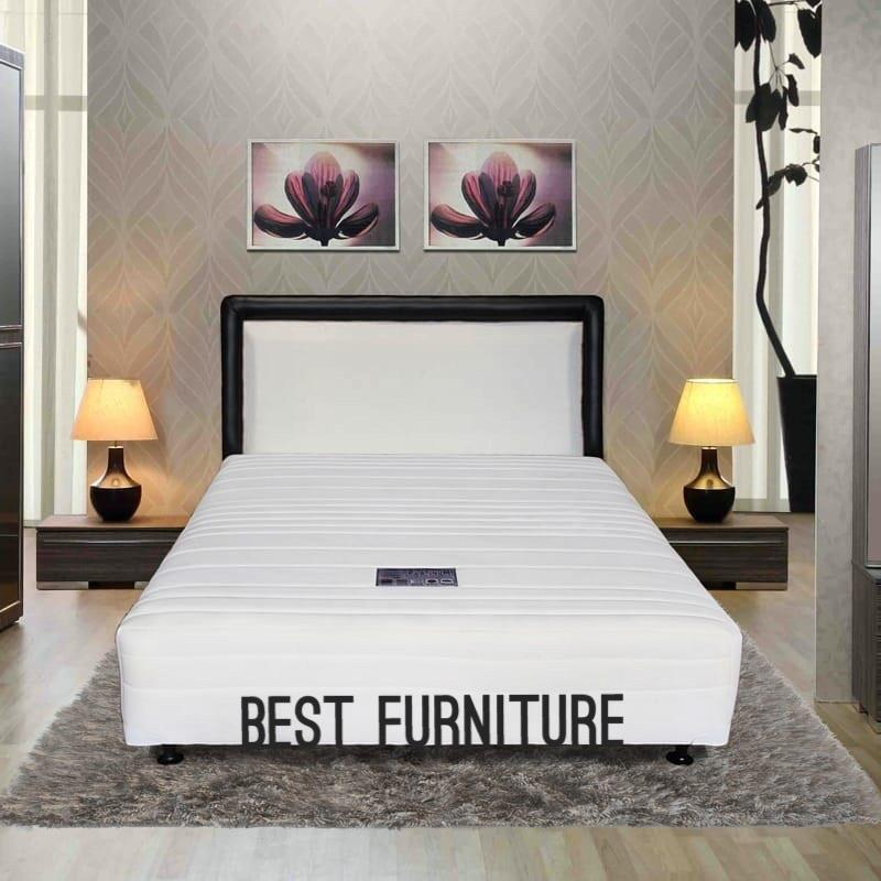 Best Furniture Winchester Multibed Springbed Kasur Fullset Anti Allergic - Putih By Best Furniture.