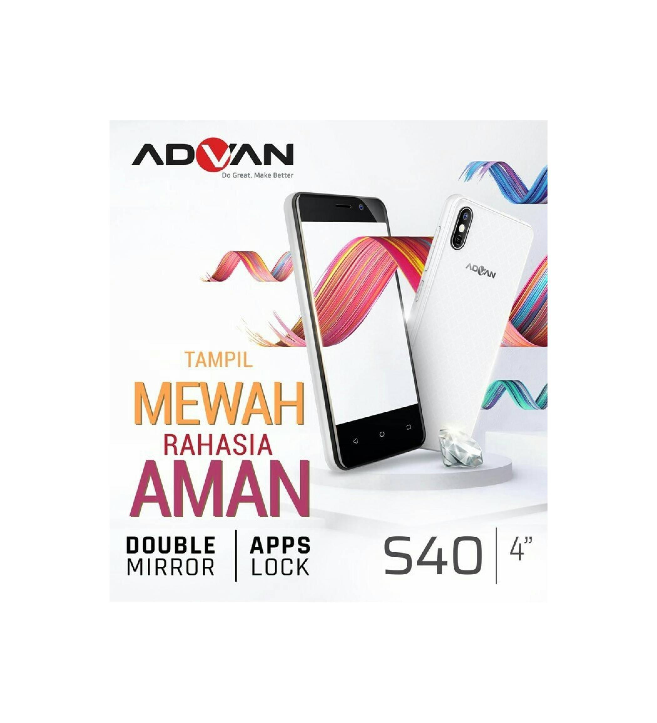 Jual Advan S40 Murah Garansi Dan Berkualitas Id Store Lcd S4x S4p Rp 872000