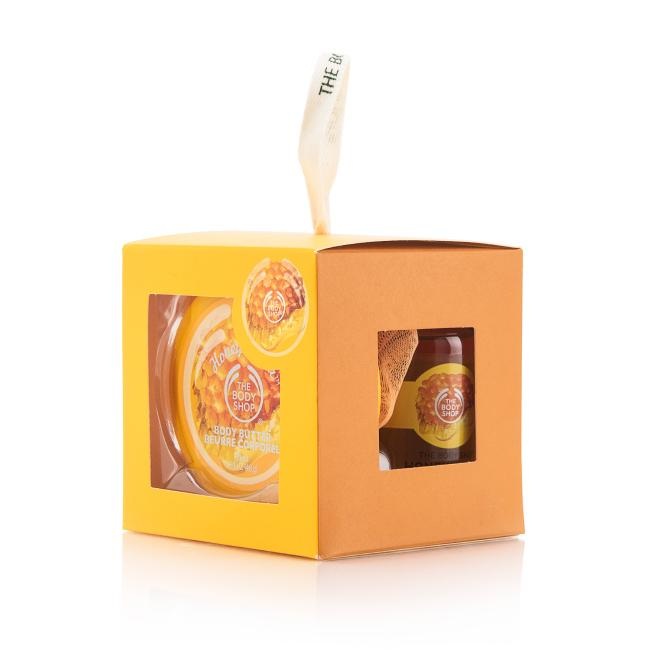The Body Shop Gift Cube Honey