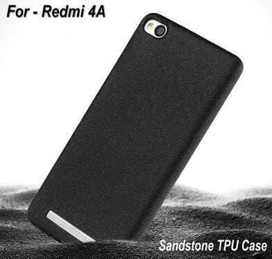 Case Slim Black Matte Xiaomi Redmi 4a Softcase Anti minyak