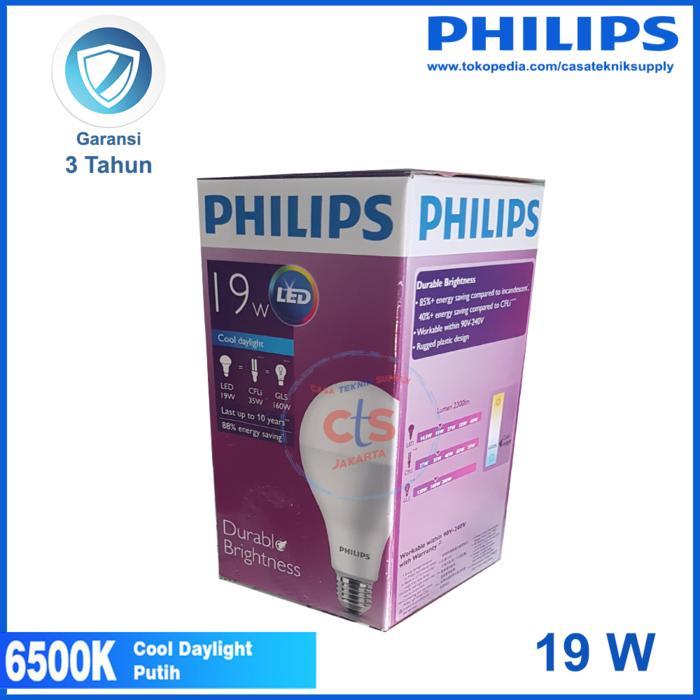 Promo Lampu LED Philips 19W 19 W 19 Watt 19Watt Putih original