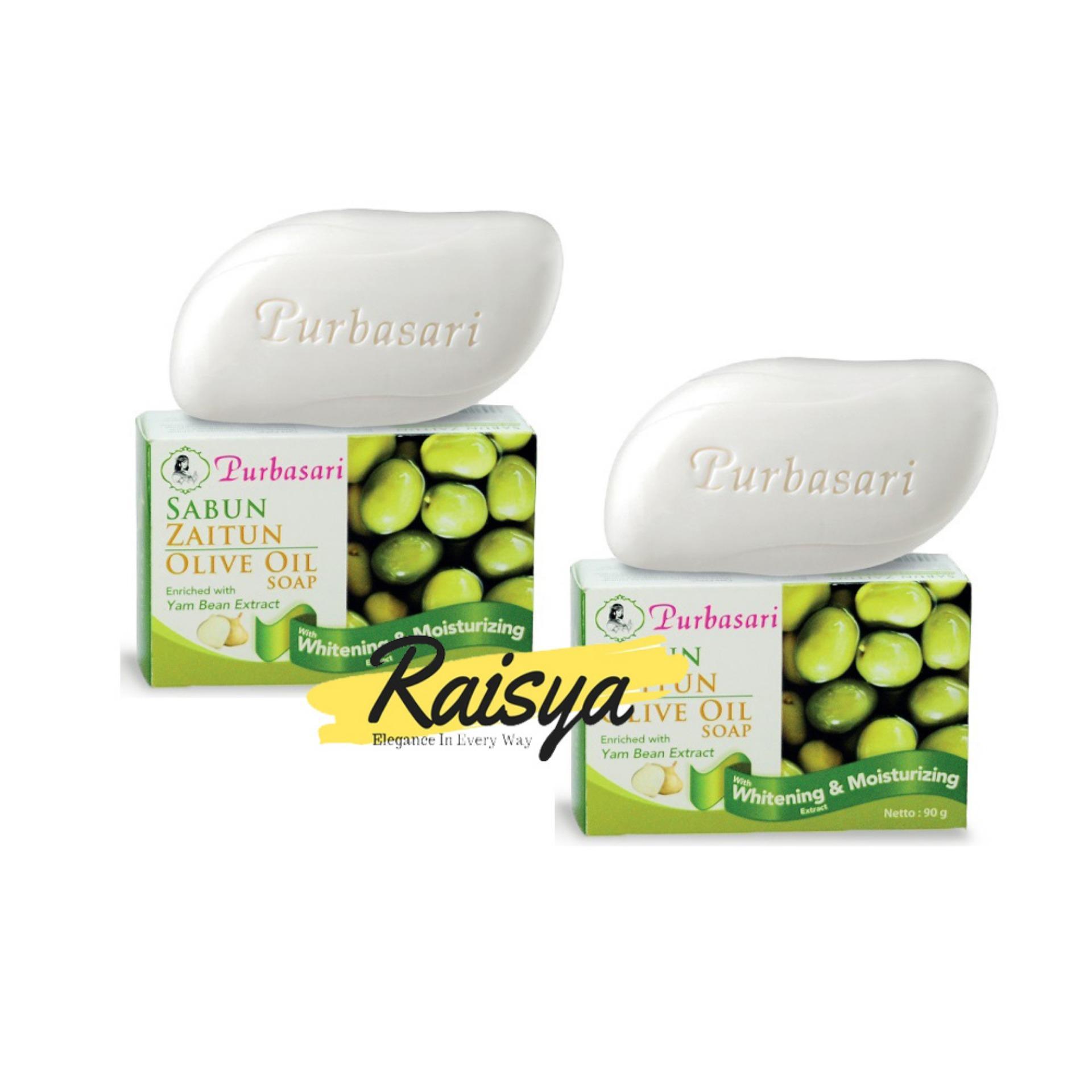 Purbasari Sabun Zaitun Olive Oil With Whitening & Moisturizing 90gr 2pcs