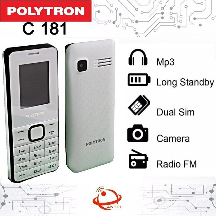 HP POLYTRON C 181 CANDYBAR DUAL SIM FM RADIO