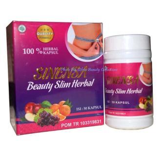 Harga Penawaran Sinensa Beauty Slim Herbal BPOM Original - Kapsul Pelangsing dan Pemutih Aman BerBPOM discount - Hanya Rp59.685