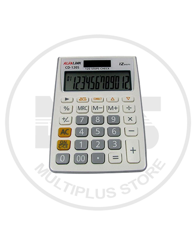 kalkulator alfalink CD - 120s putih