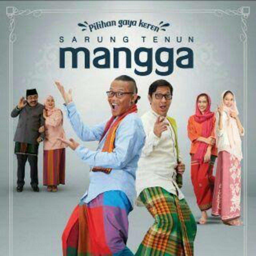 Sarung Mangga / Sarung Tenun Mangga Fiesta Polos Warna - Random