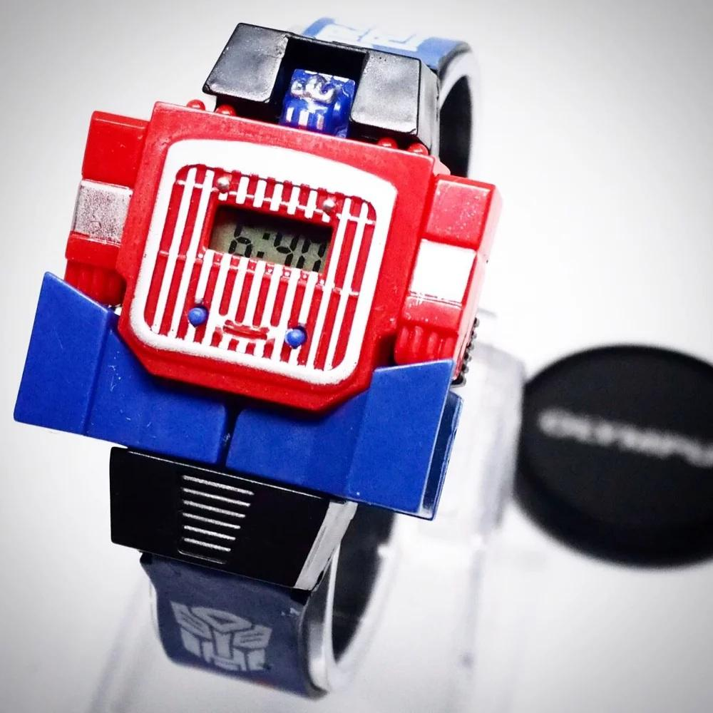 Jam Tangan Anak Robot Transformer (optimus Prime) By Ananda Watch Center.