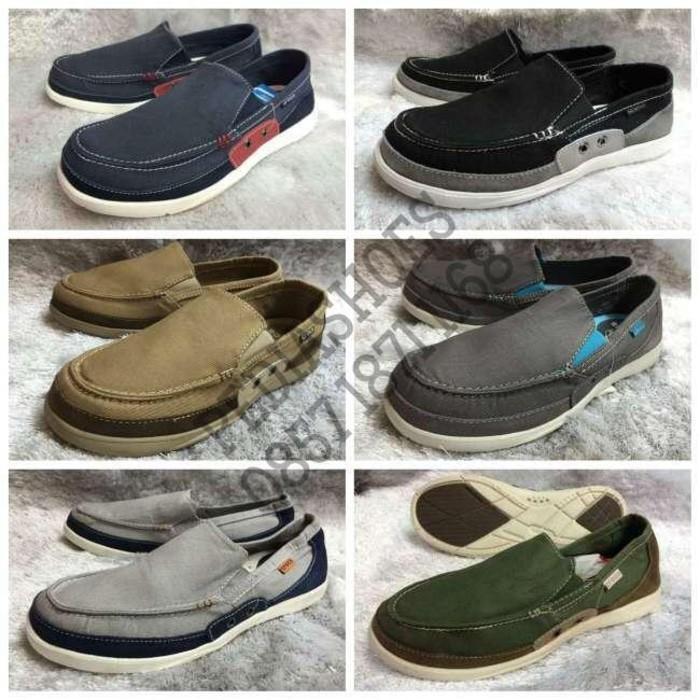 Sepatu Pria Crocs Walu Accent Original (Garansi Termurah) - Gga6qq