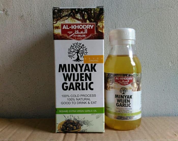 Herbalive Minyak Wijen Garlic Al Khodry / Minyak Rambut