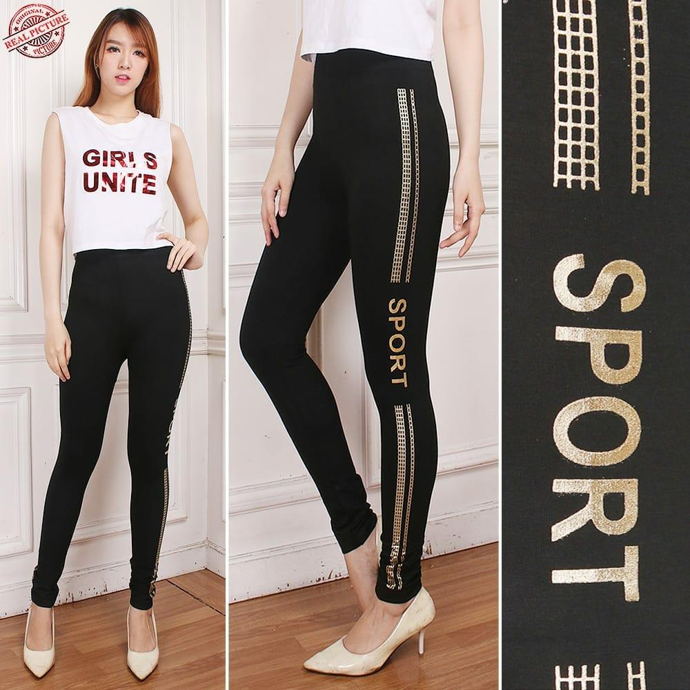 Jual Celana Legging Cj Collection Lazada Co Id