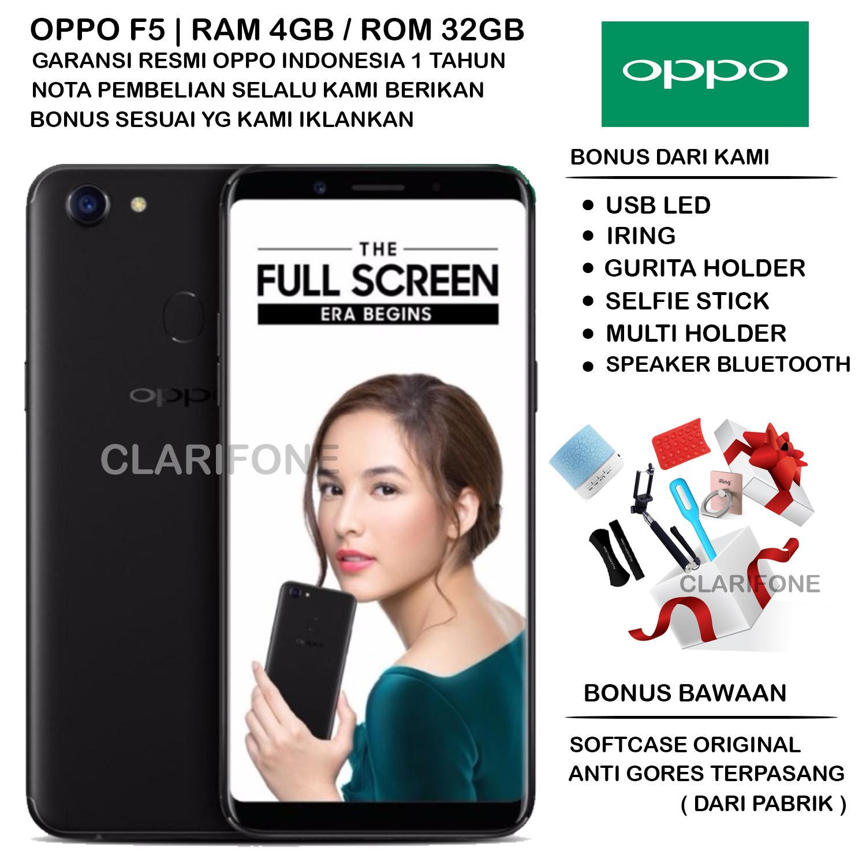 OPPO F5 - RAM 4GB - ROM 32GB - GARANSI RESMI