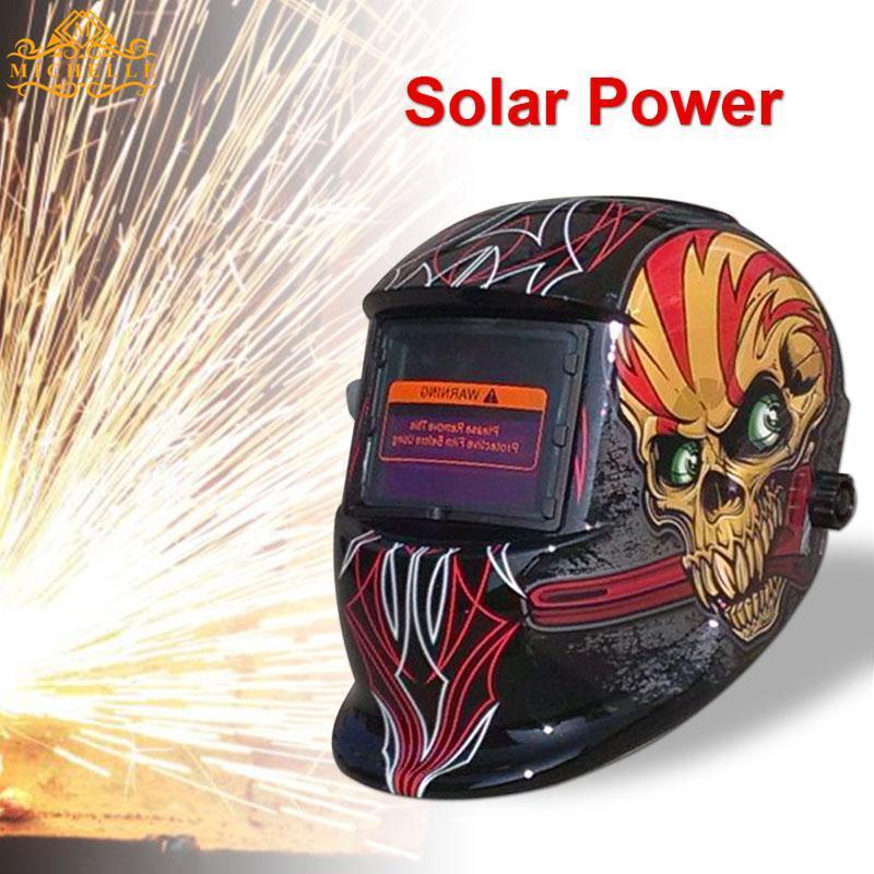 Solar Power Pro Auto Darken Tig Welding Welder Helmet Genesis Headwear Protector