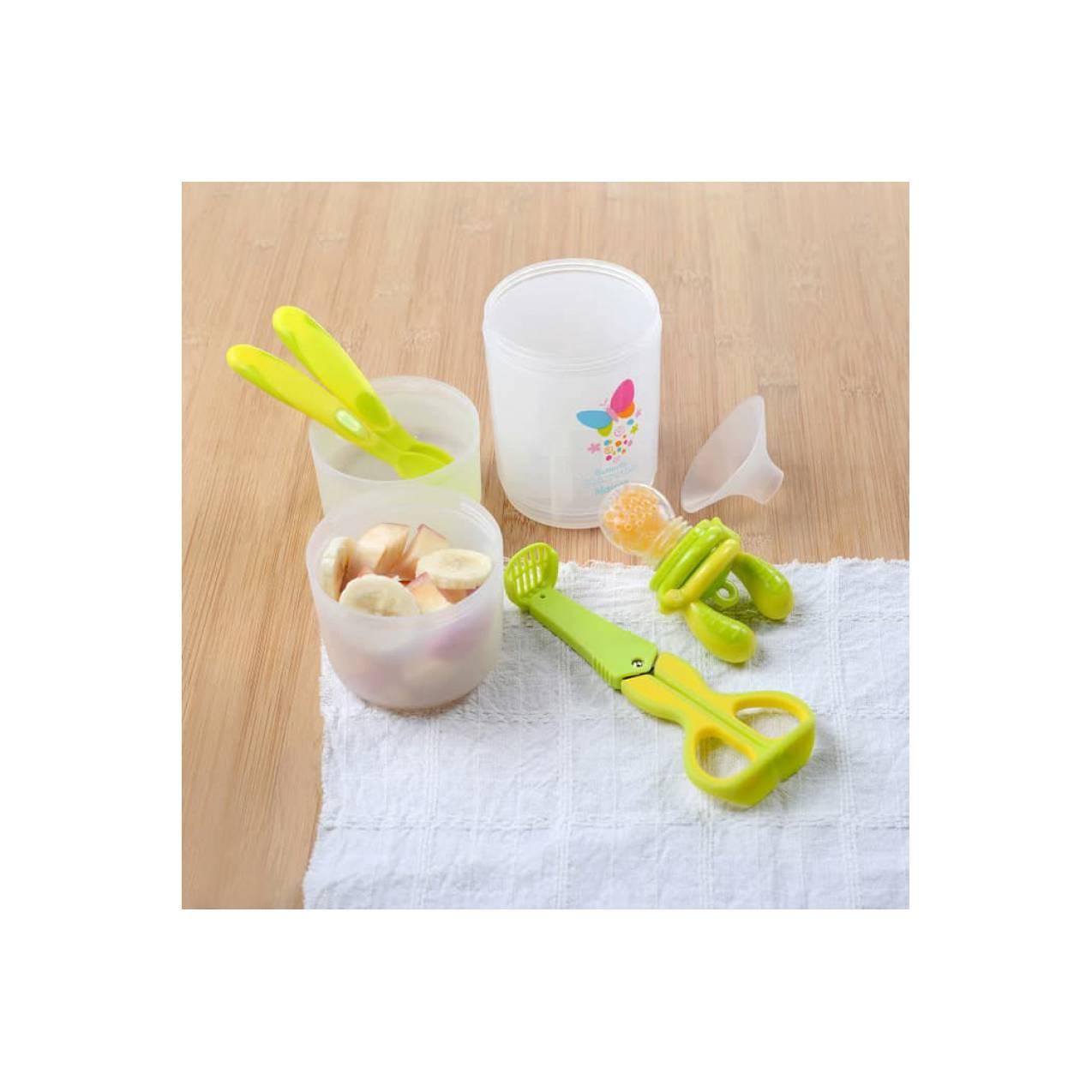 Harga kidsme travel easy set baby food maker alat mpasi food | HARGALOKA.COM
