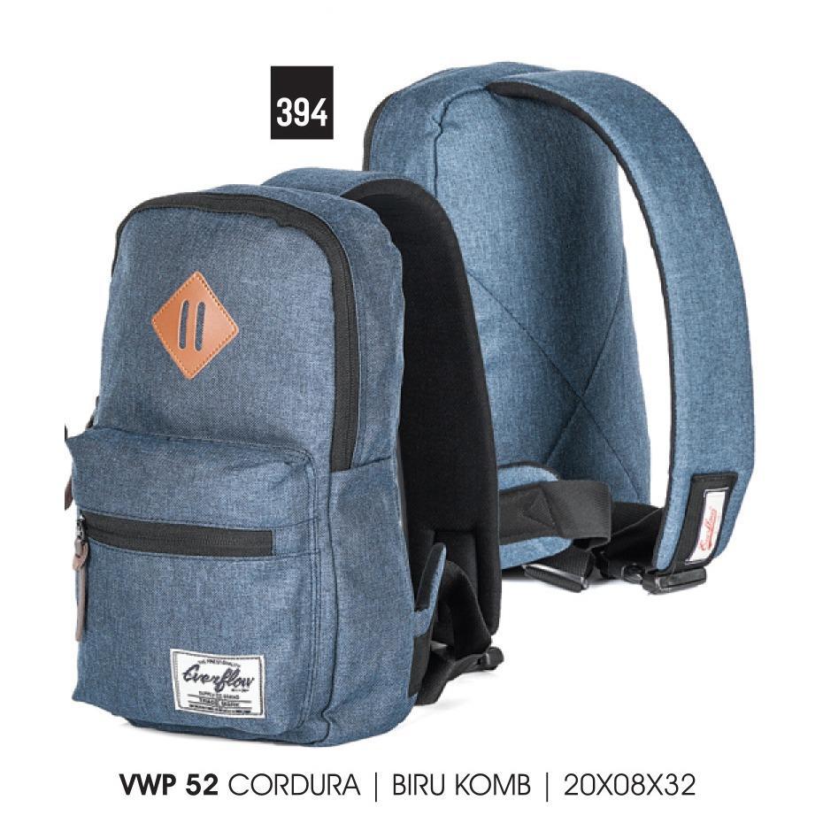 Tas Pria Everflow Biru Kombinasi / VWP 52 (394)