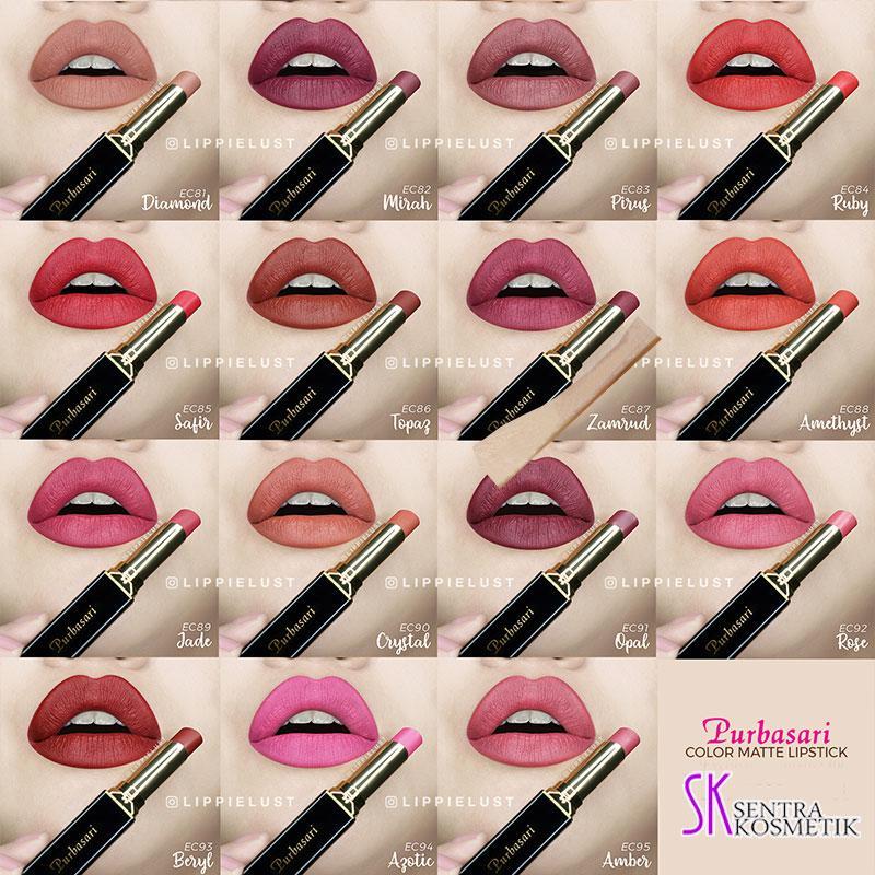 PURBASARI Lipstick Collor Matte