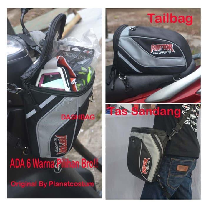 DASHBAG TAILBAG RAPTOR Terbaru Bukan Sidebag Tankbag Tas Helm || helm kyt / helm bogo / helm full face / helm ink / helm sepeda /helm motor/helm nhk/helm retro/helm anak/helm gm