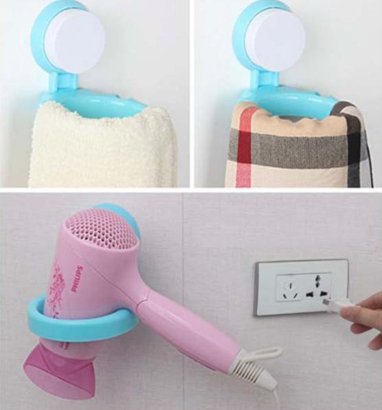 PROMO Gantungan Hair Dryer | Rak Gantungan Untuk Pengering Rambut TERLARIS