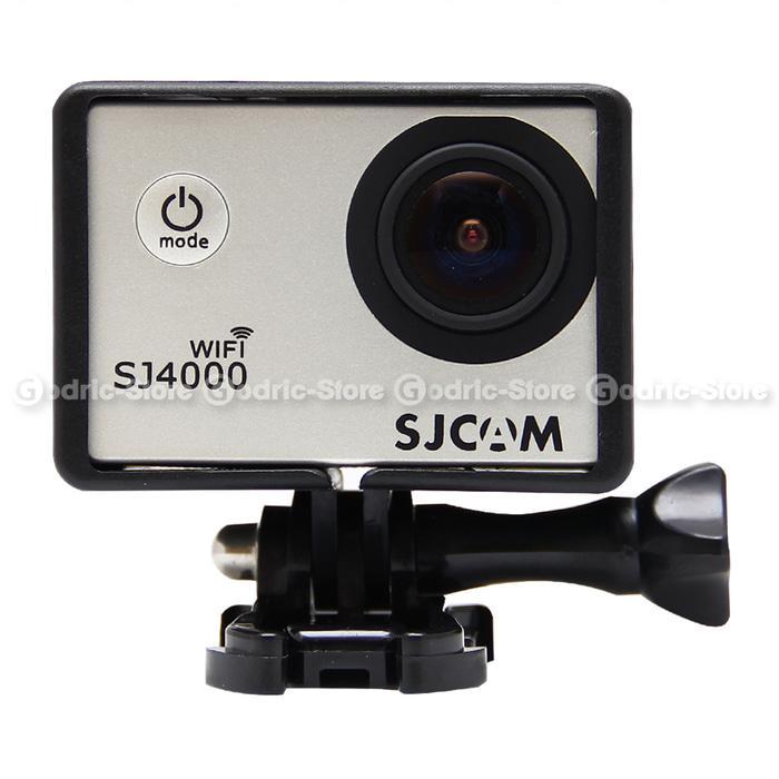 Promo SJCAM SJ4000 & BRICA B-PRO 5 ALPHA EDITON Plastic Frame Case / Casing original