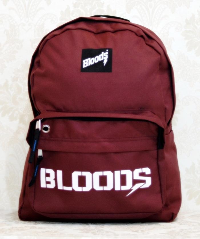 BEST SELLER!!! Tas Ransel Sekolah Sport Import Bloods Original Free Raincover